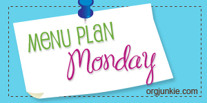 Meal Plan Monday :: July 11