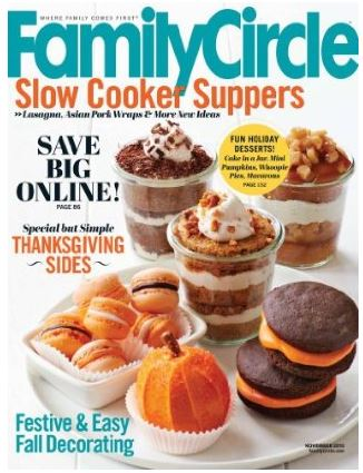 Free 2 Year Subscription to Family Circle Magazine (No Longer Available)