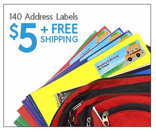 140 Address Labels for only $5 shipped (ends today!)