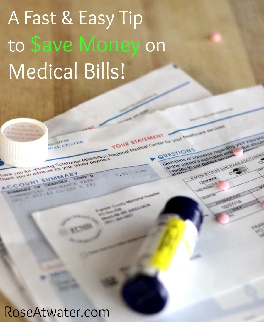 How to Save a Little Money on Medical Bills