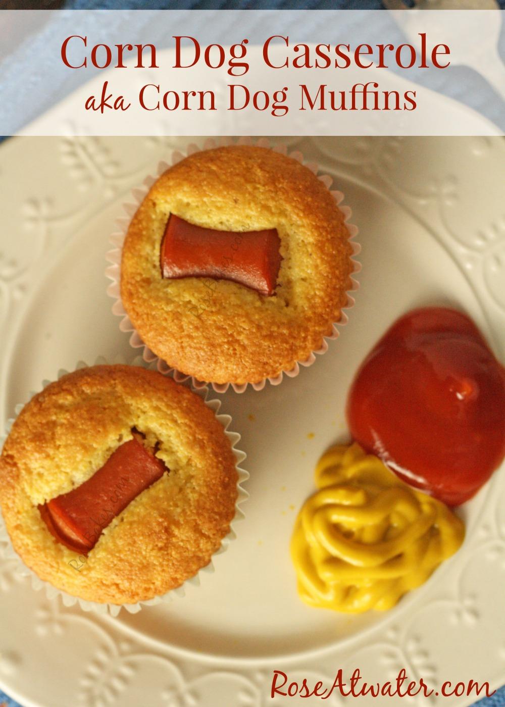 Corn Dog Casserole aka Corn Dog Muffins?