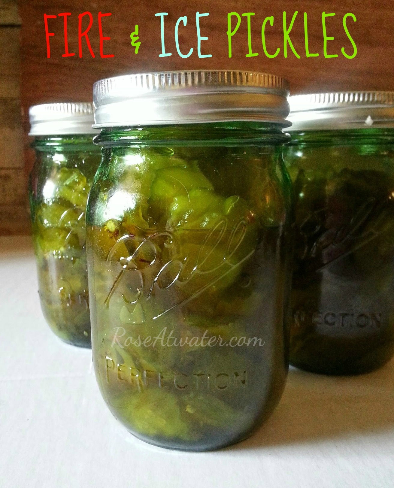 Fire & Ice Pickles