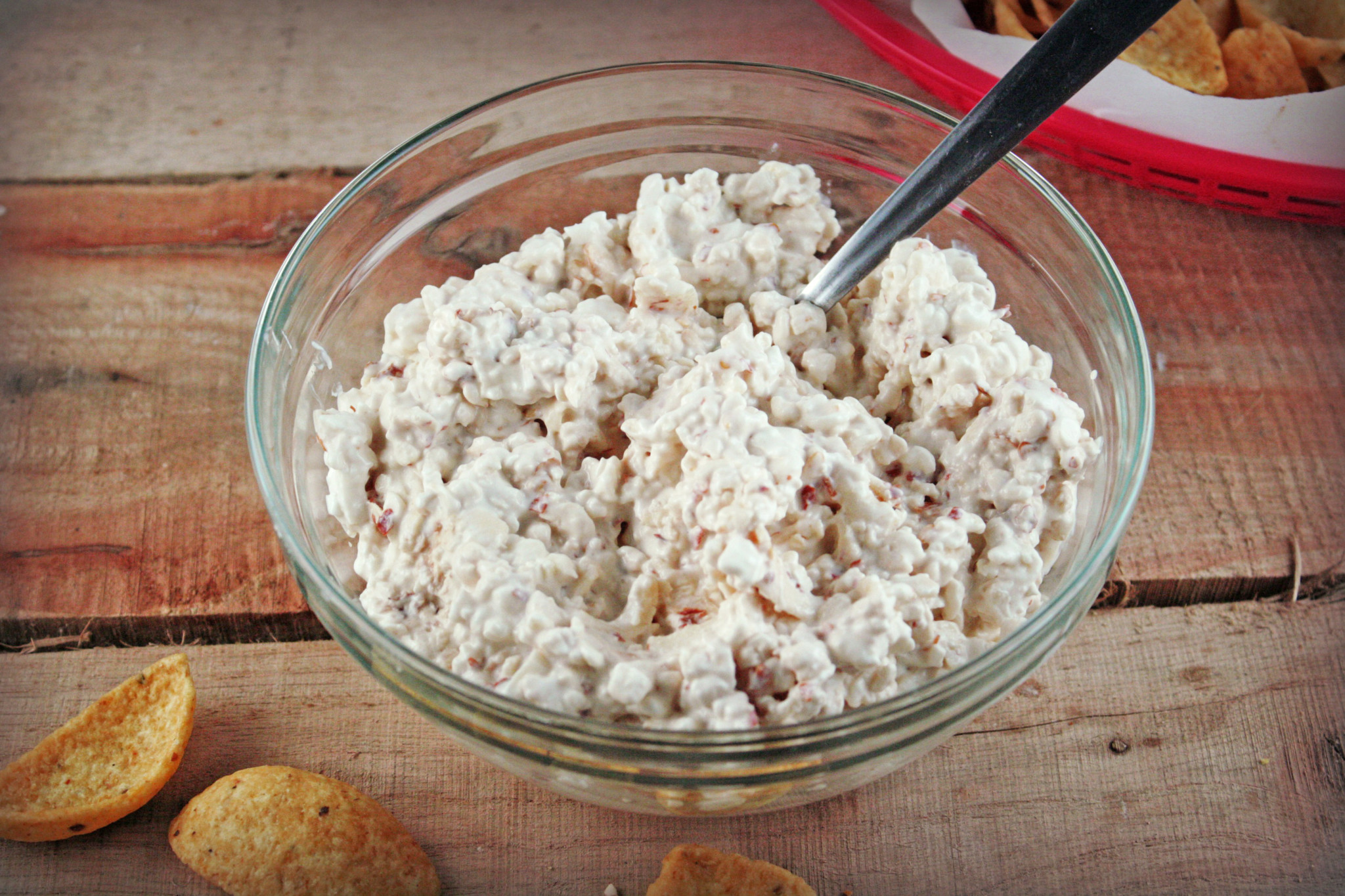 Game Day Dip {Cottage Cheese Dip}