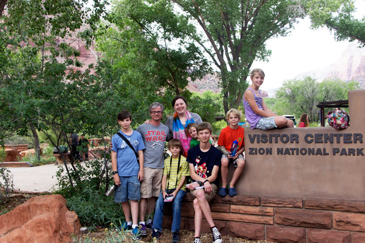 Road Trip 2015: Day 7 {Hoover Dam, Zion National Park, and the night we got taken advantage of!!}