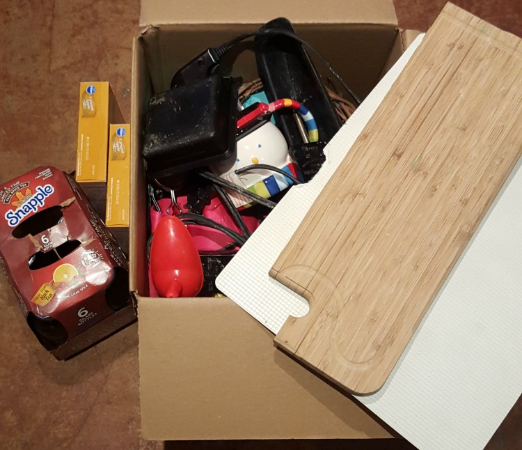 500 Things Decluttering Challenge: Day 3