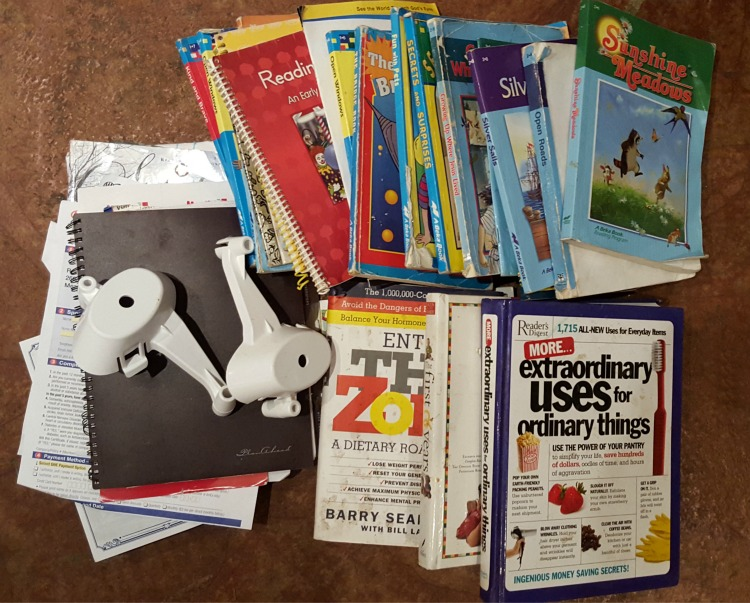 500 Things Decluttering Challenge: Day 4