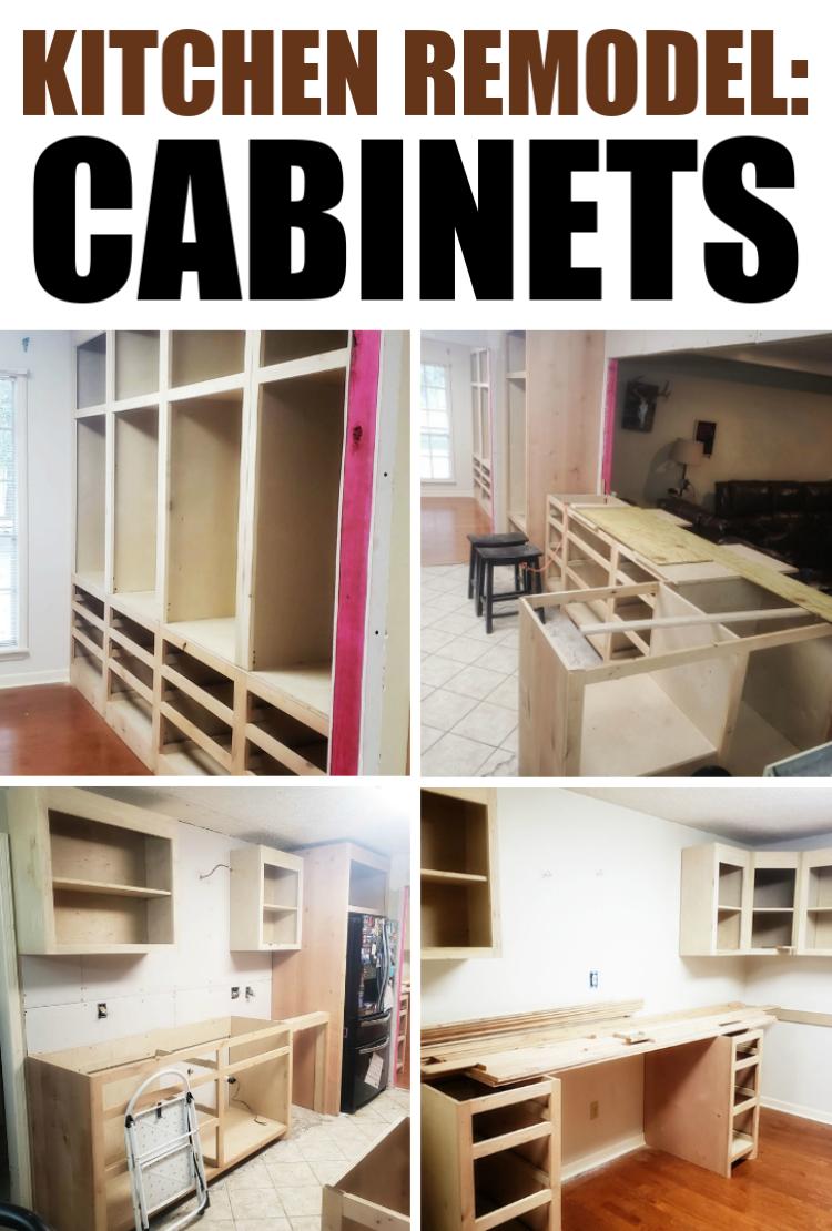 Kitchen Remodel : Cabinets (Part 1)